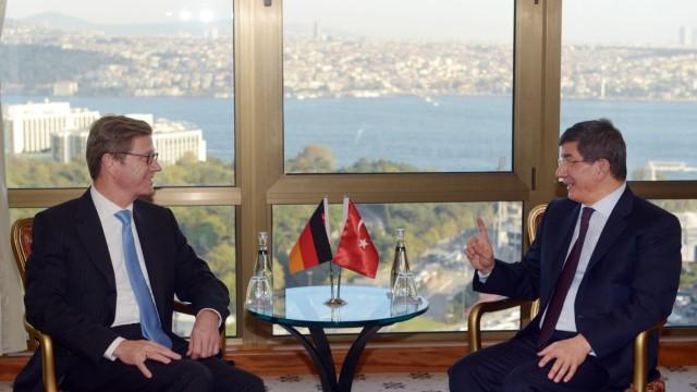 Westerwelle besucht die Türkei