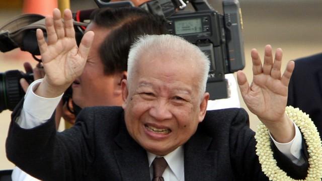 Norodom Sihanouk Kambodscha