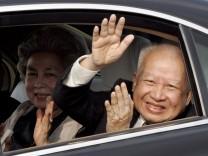 Ex-König Sihanuk von Kambodscha in Peking gestorben