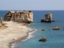 Im Südwesten von Zypern Aphrodite Adonis Strand