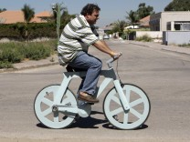 Tüftler, Fahrrad, Fahrrad aus Pappe, Papprad, Ishar Gafni