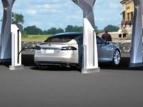 Tesla Supercharger, Tesla, Supercharger, Elektroauto