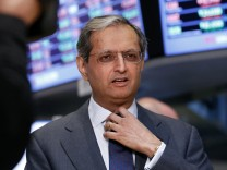 Citigroup Inc Chief Executive Vikram Pandit gives an interview on the floor of the New York Stock Exchange