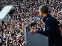 US-Wahlkampf Präsident Barack Obama