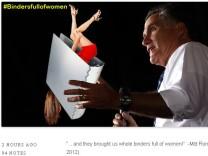 """Mitt Romney und der """"Aktenordner voller Frauen"""""""