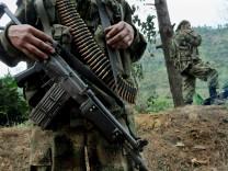 Friedensgespräche kolumbianischen Regierung - Linksguerilla Farc