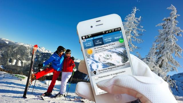 Twitter  Internet Wlan Wifi Piste Skigebiete