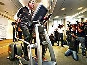 Getty, Jung, Fitness, Sport, Verteidigungsminister, Fotografen, Arbeitsminister