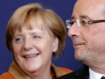 Angela Merkel und François Hollande beim EU-Gipfel