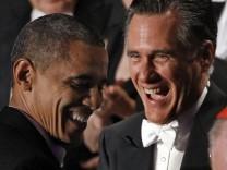 Barack Obama und Mitt Romney