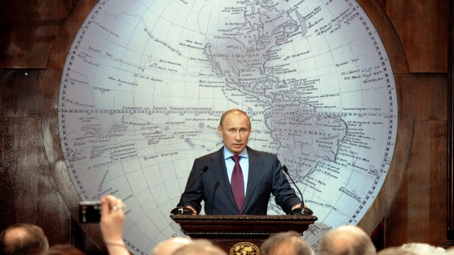 Wladimir Putin Russischer Staatskonzern Rosneft