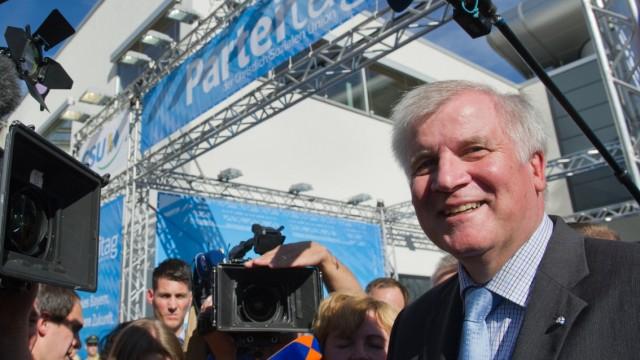 Seehofer, CSU-Parteitag 2012