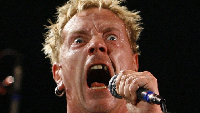 John Lydon alias Johnny Rotten; Sex Pistols