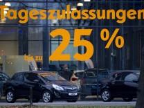 Krise auf deutschem Automarkt verschaerft sich