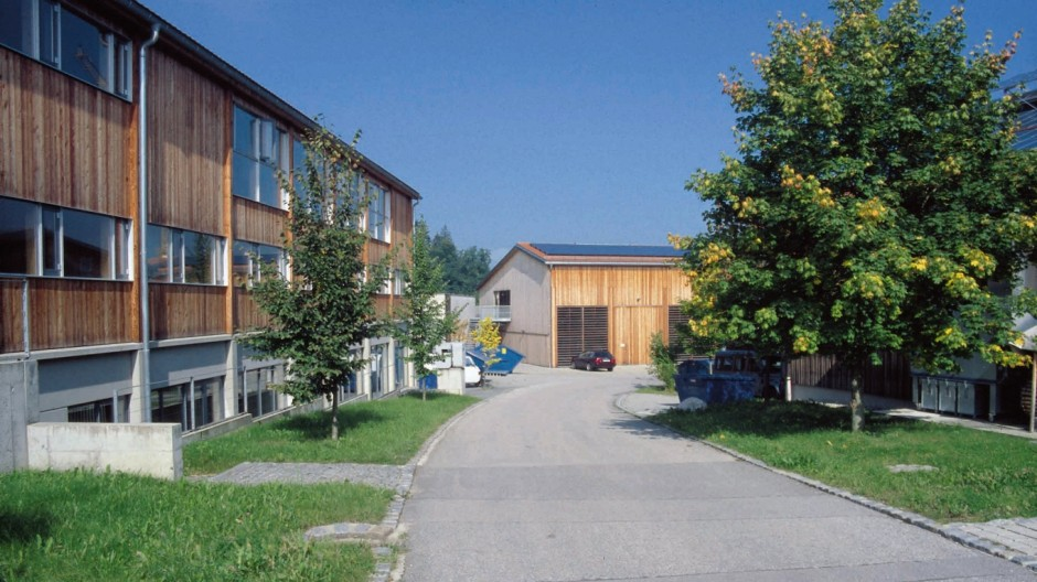 Gewerbegebiet Gewerbegebiet in Tuntenhausen