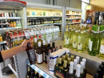 Alkoholverkauf in Tankstellen