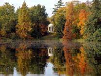 Goldener Herbst im Wörlitzer Gartenreich