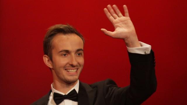 Jan Böhmermann beim Deutschen Fernsehpreis 2012