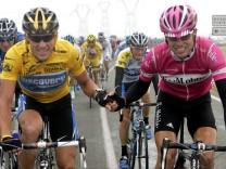 Tour de France Armstrong und Ullrich