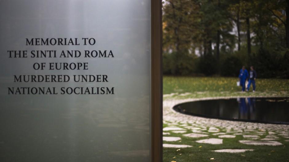 Denkmal Sinti Roma Holocaust