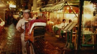Mexiko Mexiko-Stadt Drehorgel Spieler