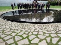 Einweihung Denkmal für Sinti und Roma Berlin