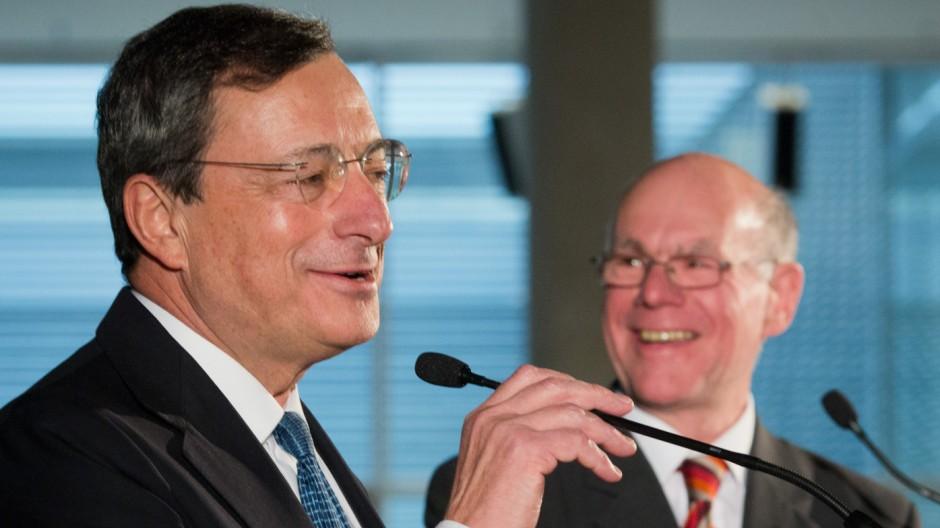 EZB-Präsident Draghi im Bundestag