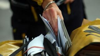 Post weist Bericht über späte Briefe zurück