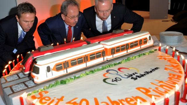 Festveranstaltung 40 Jahre Münchner S-Bahn