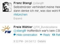Screenshot Antwort von @FW_Bundesebene auf @stanglfr