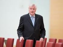 Pressetatement von Bayerns Ministerpraesident Seehofer