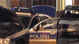 Angriff auf Polizeiwache, Schanzenviertel Hamburg, ddp