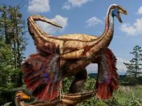 Gefiederter Dinosaurier