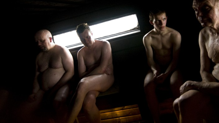 Helsinki Finnland Sauna