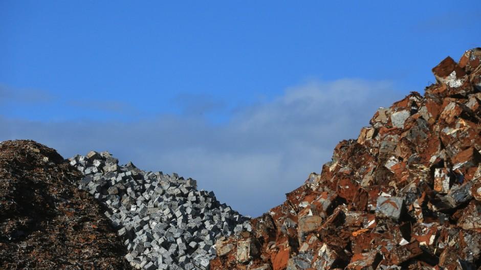 Recycling in Großbritannien