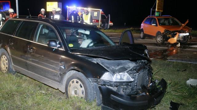 Babenried: Verkehrsunfall