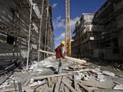 Arbeiter in Gilo; reuters