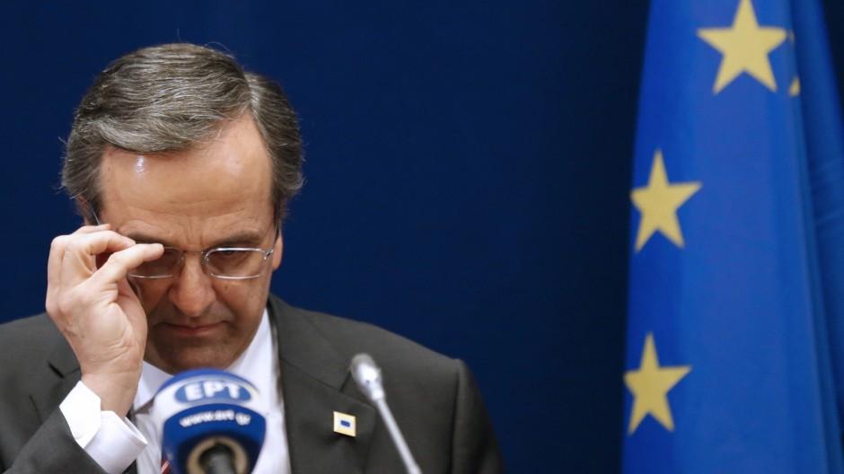 Samaras Griechenland Euro-Krise Hilfspaket