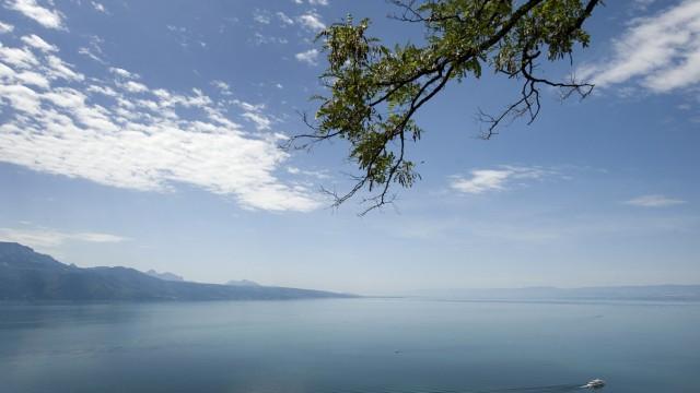 Der Genfer See war vor 1450 Schauplatz einer riesigen Naturkatastrophe. Eine haushohe Flutwelle zerstörte Teile der Stadt Genf.
