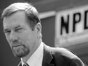 Jürgen Rieger NPD; ddp