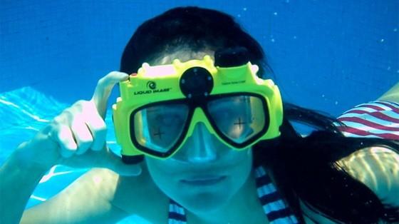 Reise-Gadgets Digitalkamera Schwimmmaske