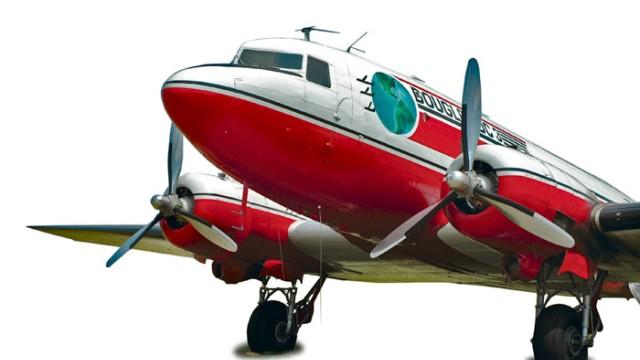 Schiene-Wasser-Luft Douglas DC-3