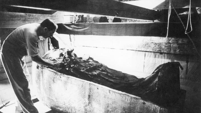 Tutanchamun Pharao Tal der Könige Ägypten Grabmal Howard Carter