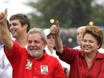 Brasilien, Dilma Rousseff, Luiz Inacio Lula da Silva