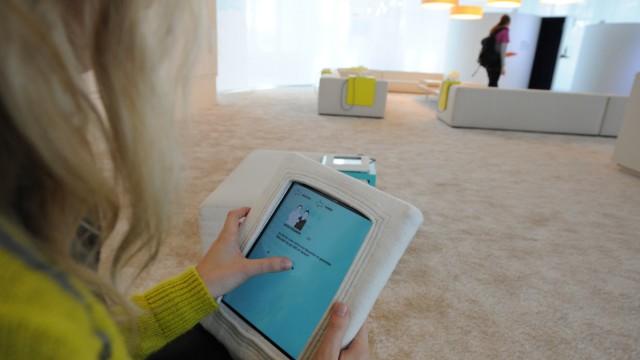 """Sonderaustellung """"@Home -Unsere Gesellschaft im Digitalen Zeitalter"""" im Deutschen Museum."""