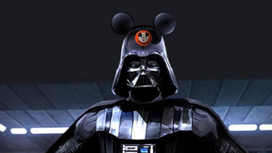 Digitalblog Internet-Mem zur Disney-Lucasfilm-Fusion