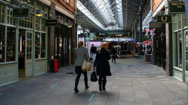 Old Spitalfields Market, London