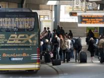 Linienbus im Fernverkehr