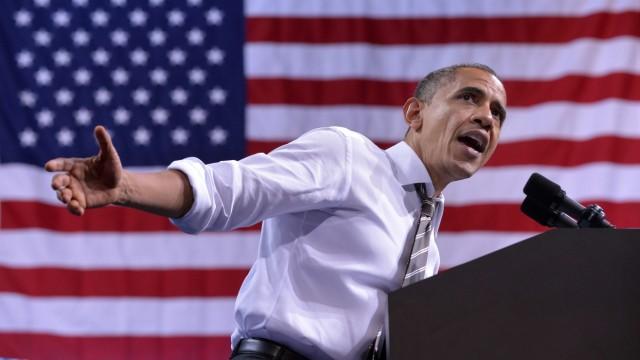 US-Wahl Obama und Romney im US-Wahlkampf