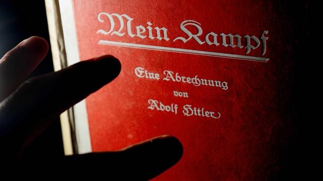 """Ob eine historisch-kritische Edition von """"Mein Kampf"""" erscheinen kann, ist weiter offen."""